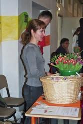 """Aktion """"Tulpen für Tische"""""""