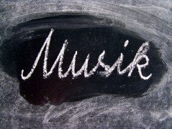 Tafelbild Musik © knipseline, Pixelio.de